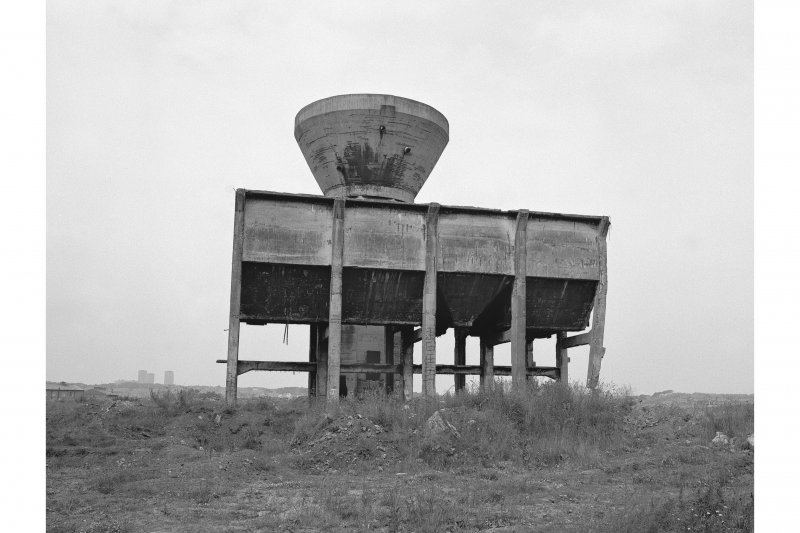 Robroyston Colliery, Separator Tower and Bunkers View from S