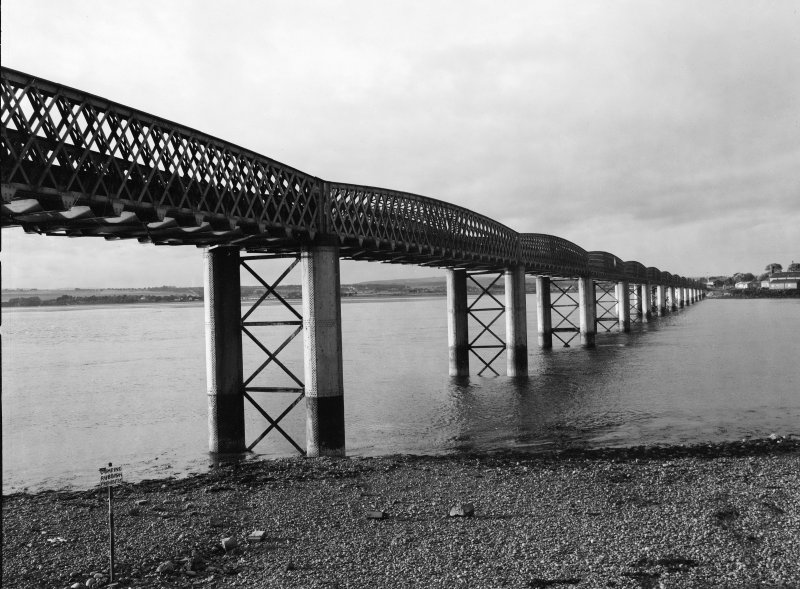 Montrose, Inchbroach Viaduct View of downstream facing side from S bank