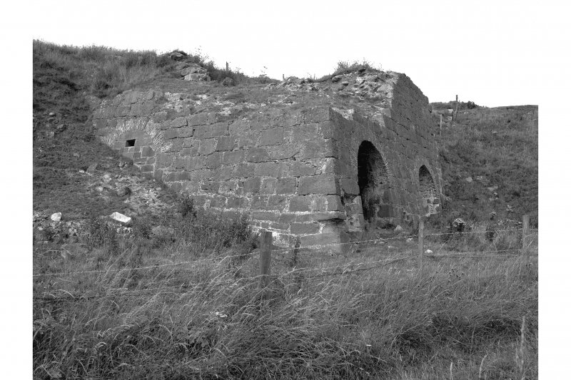 East Mathers, Limekilns General view of NE kiln, from S