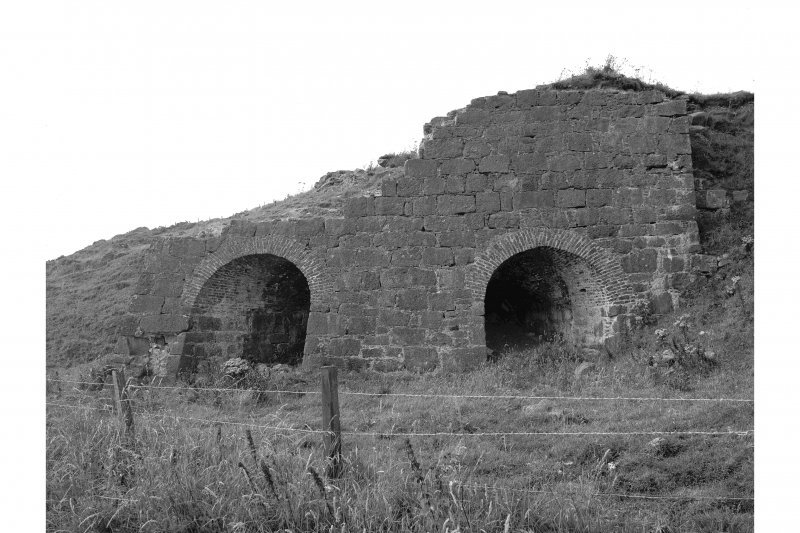 East Mathers, Limekilns View of kiln frontage, from E