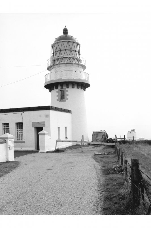 Todhead Lighthouse View from WSW showing tower