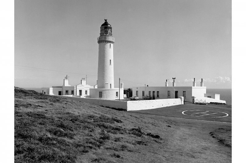 Mull of Galloway, Lighthouse General view from NW