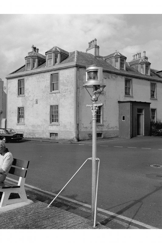 Portpatrick, 53 Main Street, Harbour House Hotel View from S showing hotel and harbour leading light
