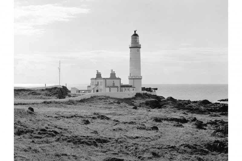 Corsewall Lighthouse General view from E