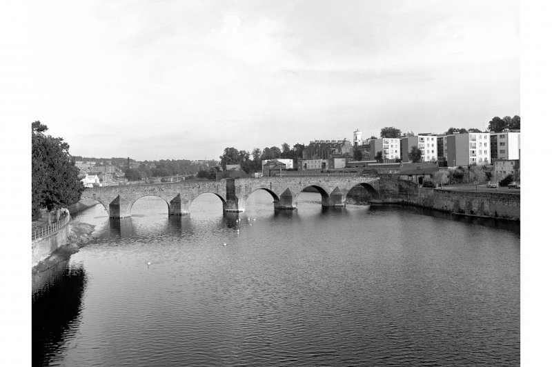 Dumfries, Old Bridge View from NNW