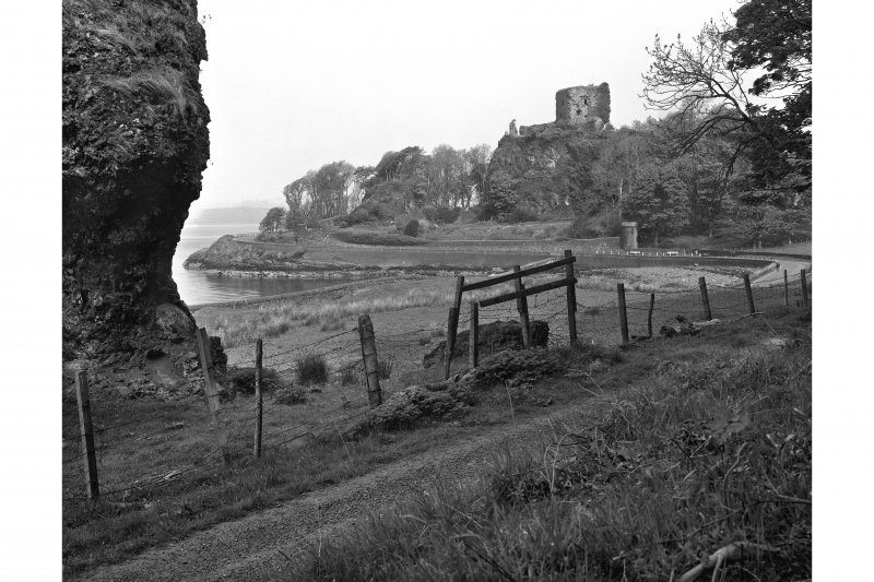 Dunollie Castle. General view from South.
