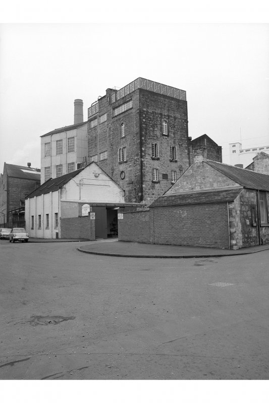 Cambus Distillery View of Still House complex on corner of Devon Place and Station Road, from S