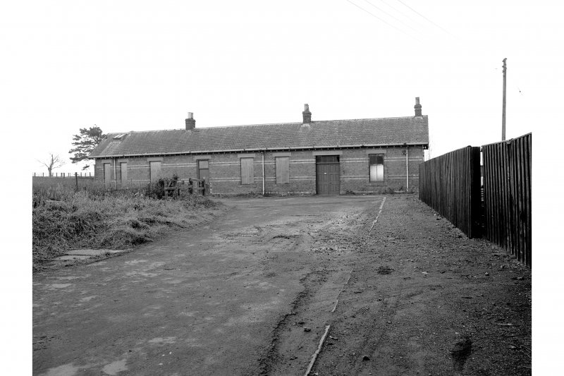 Kinross, Station View of E platform building, from E