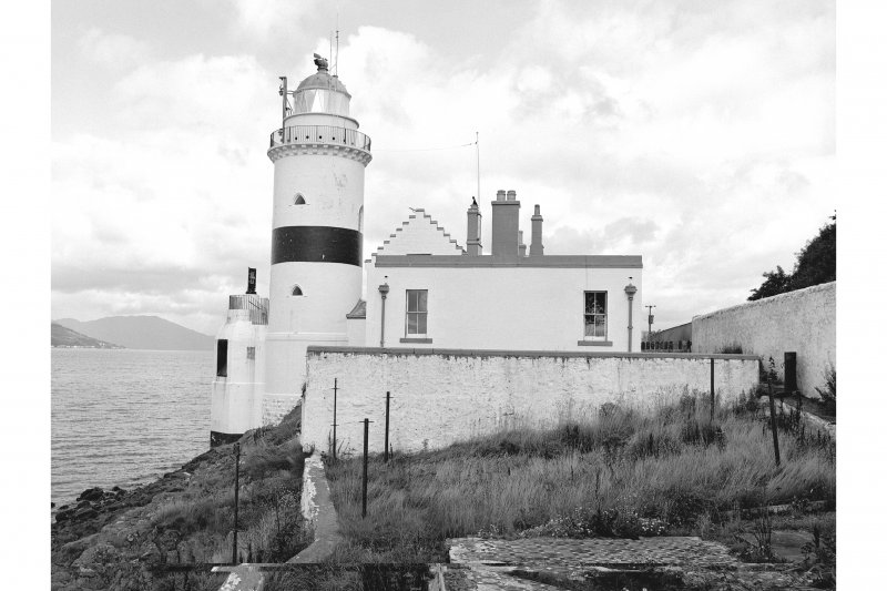 Inverkip, Cloch Lighthouse View from S