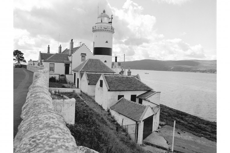 Inverkip, Cloch Lighthouse View from N