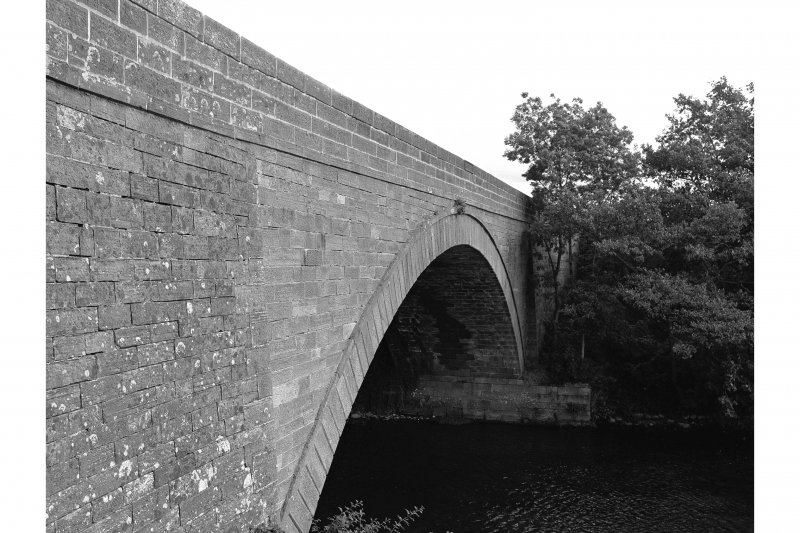 Millhousebridge, Bridge View of downstream face from W