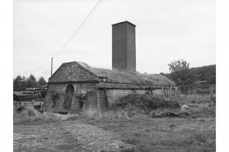 Tarrasfoot Tileworks View of kiln from SW