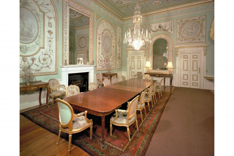 Interior. View of Dining Room from South.