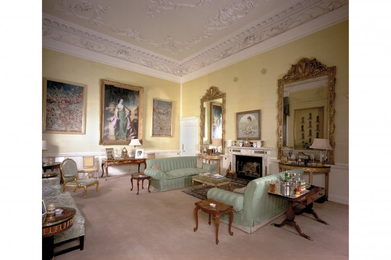 Interior. View of Private Drawing Room.
