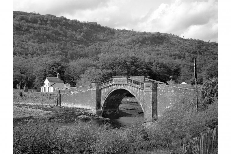 Inveraray Castle Estate, Garron Bridge View of Garron Bridge from South East