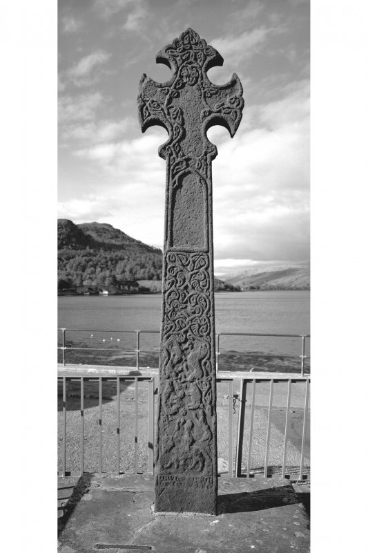 Inveraray, Pier, Cross View of South face of Cross