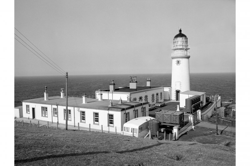 Lewis, Tiumpan Head Lighthouse View of compound from SW