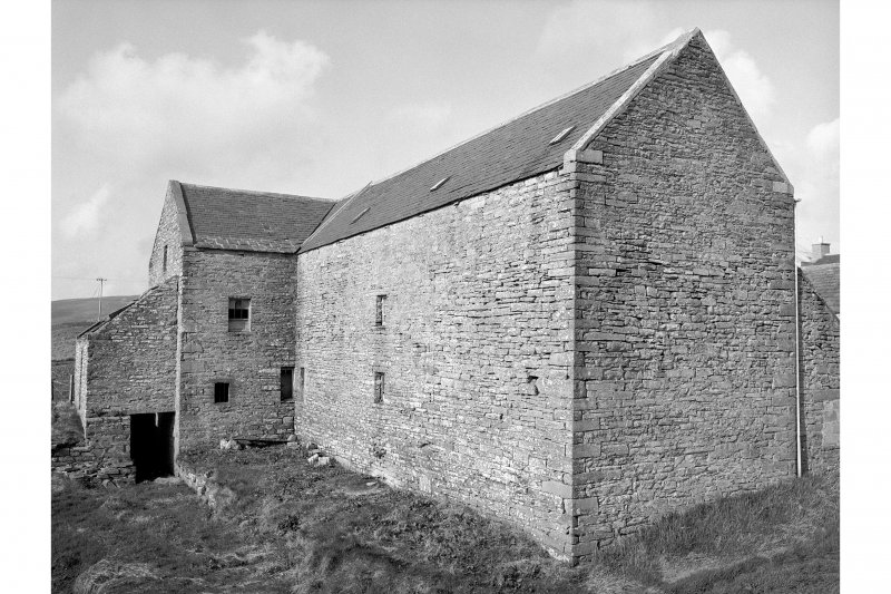 Kirbster Mill View from SSW showing W front and SW corner
