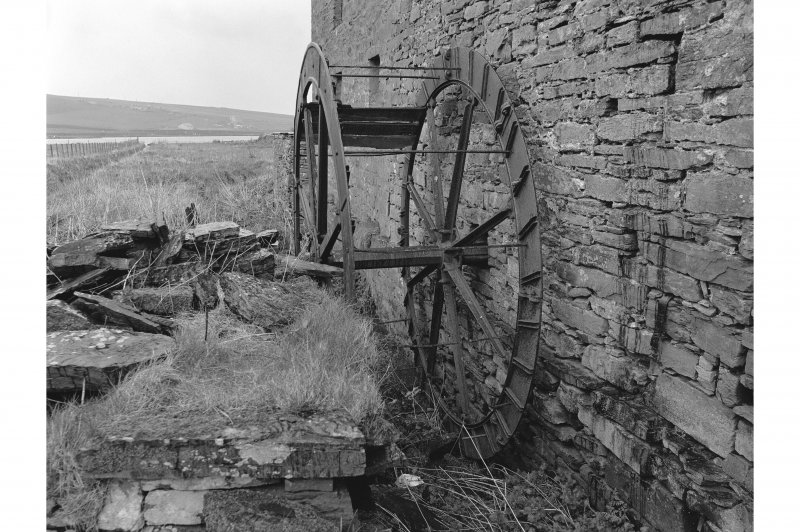 Mill of Voy View from W showing waterwheel