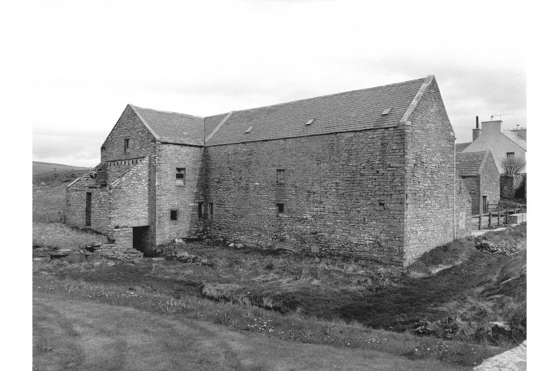 Kirbster Mill View from SW showing W front and SW corner