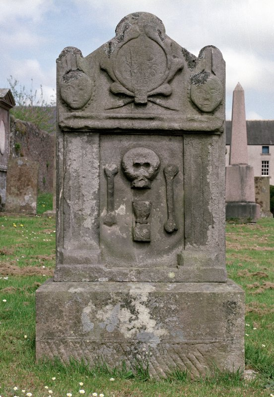 Scan 46642/CN, gravestone in Lauder Parish church.