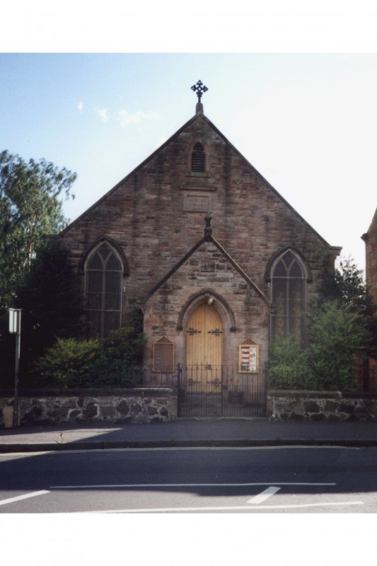 Tillicoultry, High Street, Baptist Church Scanned image only.