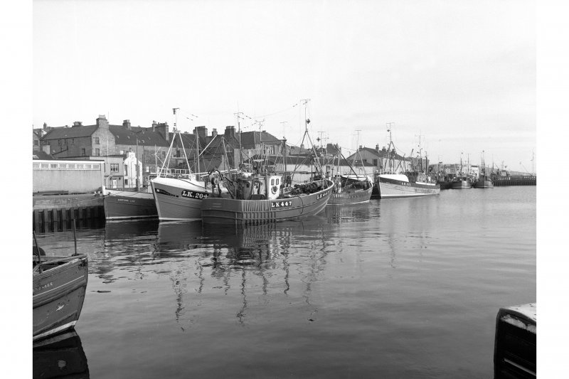 Lerwick, Harbour General view of Albert Dock