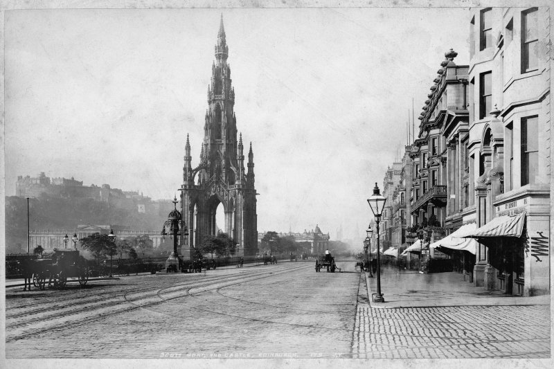View from east end of Princes Street.