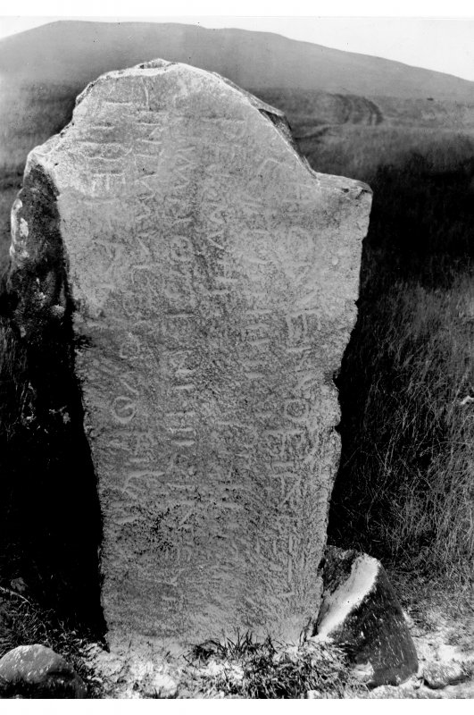 View of inscribed face.