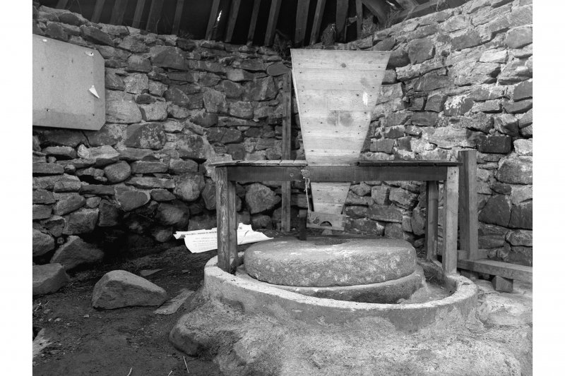 South Shawbost Mill View of interior with fittings
