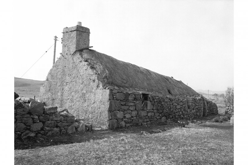 Callanish, Thatched Cottage View of thatched cottage