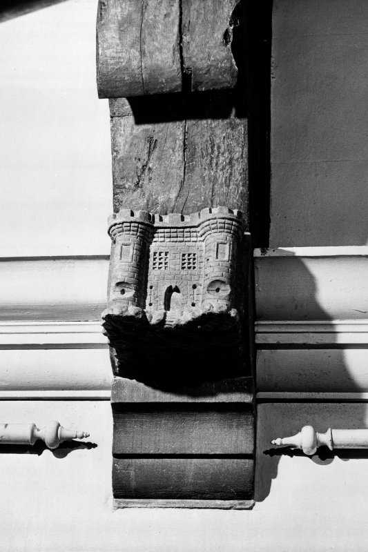 Interior-detail of corbel-grotesque