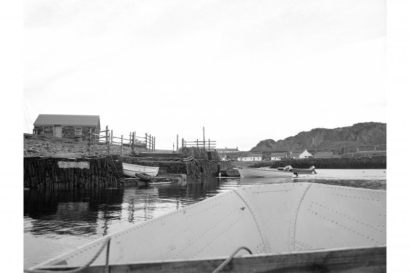 Easdale Harbour View from ENE showing ENE entrance