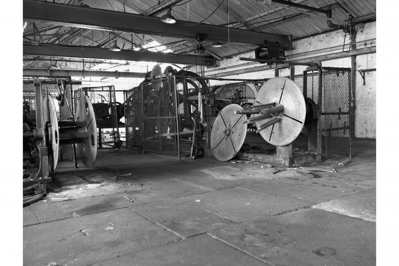 Gourock Ropeworks View of House Rope machines