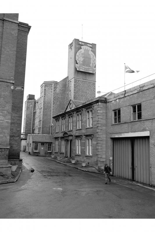 Johnstone, Kilbarchan Road, Cartside Mills View of building on N side of courtyard, from SE