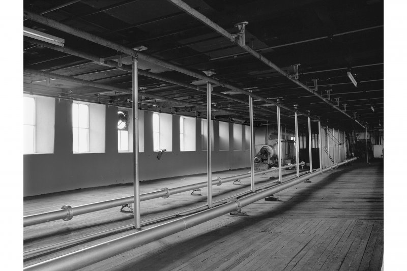 Johnstone, Kilbarchan Road, Cartside Mills, Interior View