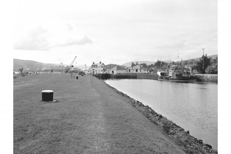 Corpach, Caledonian Canal Basin General View