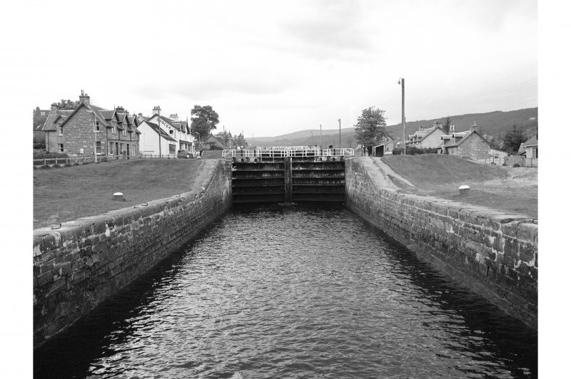 Fort Augustus, Caledonian Canal Locks General View