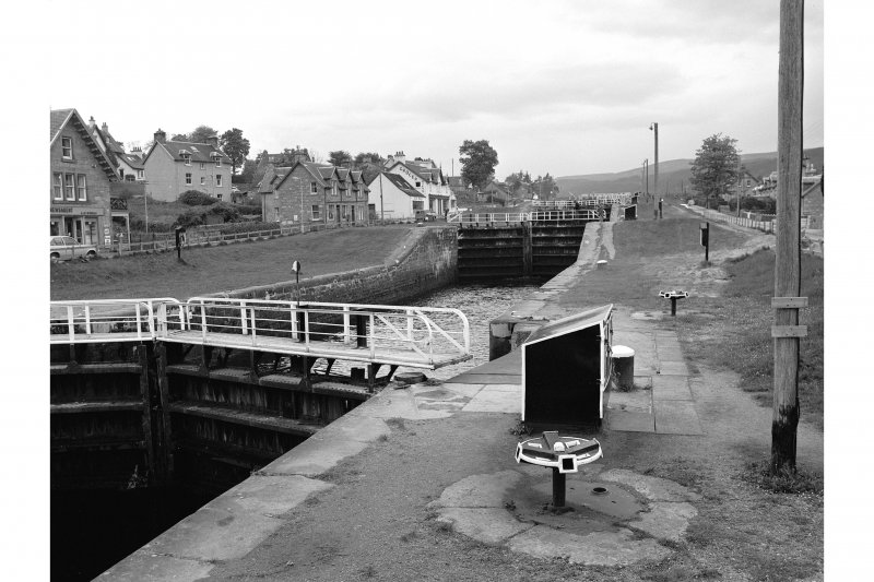 Fort Augutus, Caledonian Canal Locks General View