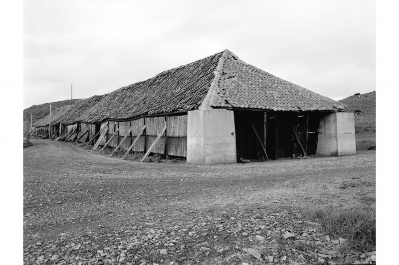 Blackpots, Brick and Tile Works View of drying shed