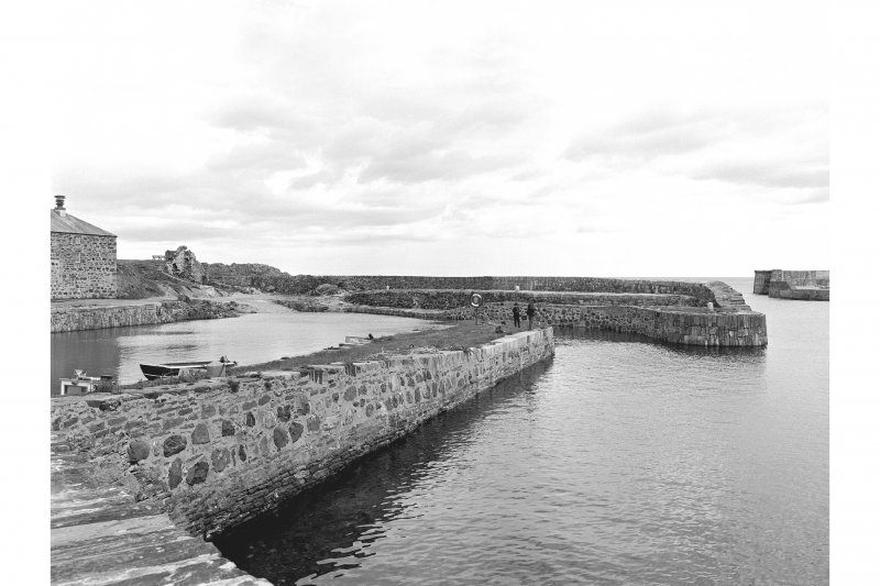 Portsoy, Old Harbour View of harbour from E basin
