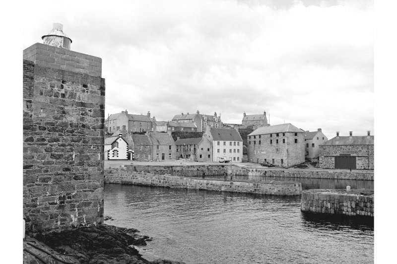 Portsoy, Old Harbour View from Harbour entrance