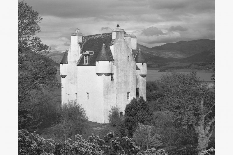 Barcaldine Castle From W.