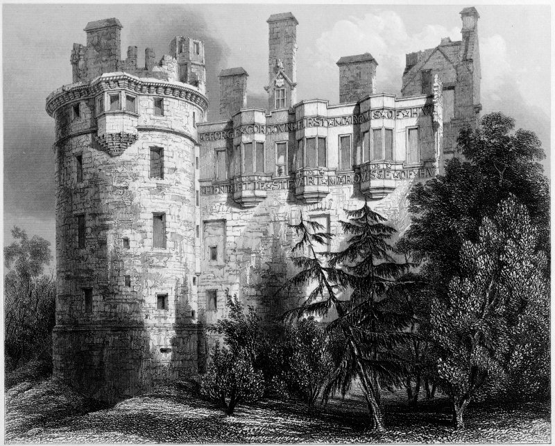 Huntly Castle.