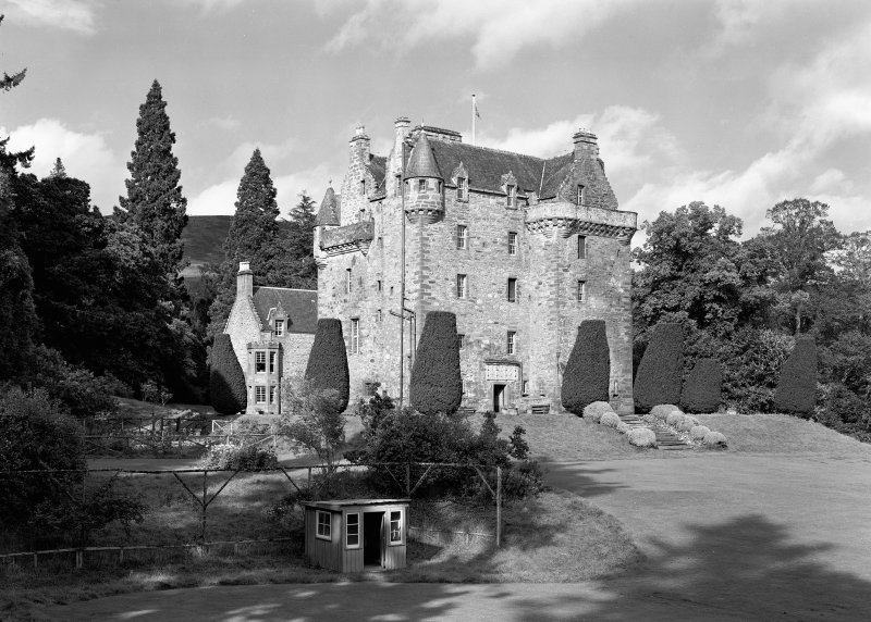 Castle Leod. View of South East elevation