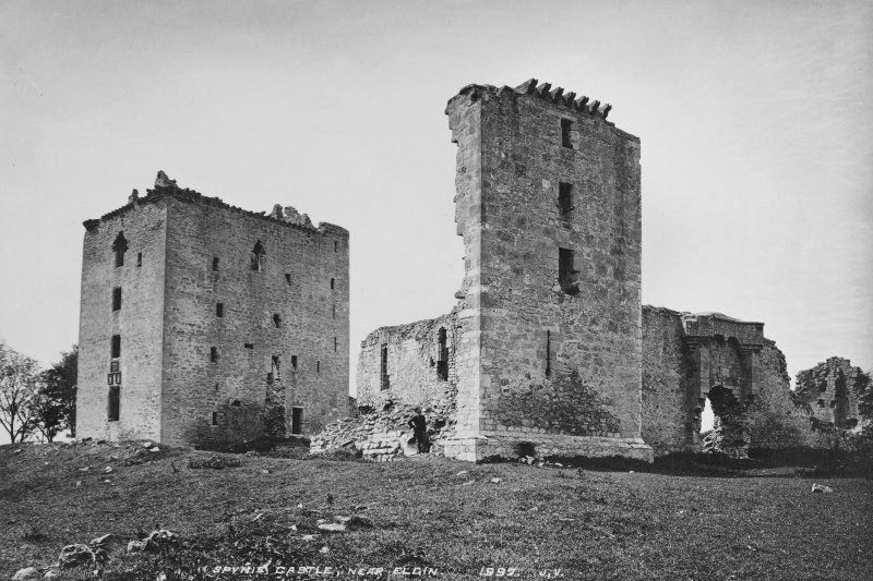 Historic photograph. General view from SE.