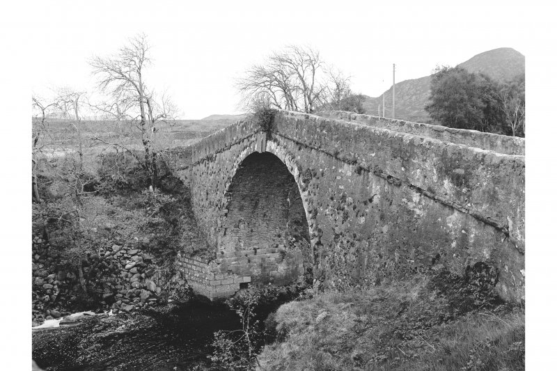 Whitebridge, Old Bridge View from W showing NNW front