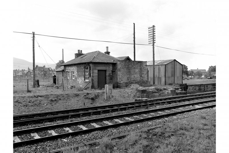Blackford Station View from NE showing NNE and ESE fronts of offices