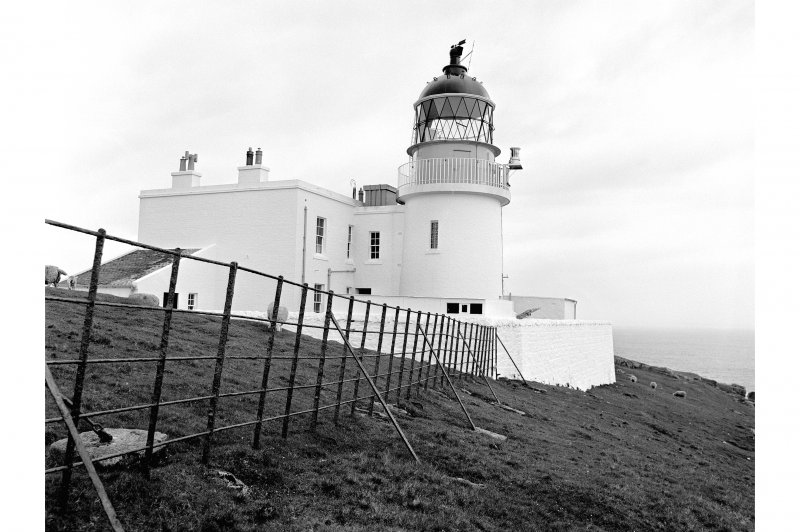 Stoer Head Lighthouse General View