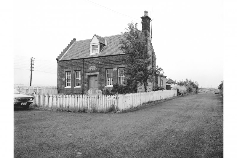 Forteviot Station View from NE showing ENE front of main station building